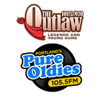 101.5 The Outlaw 970 WZAN ESPN Portland Pure Oldies 105.5