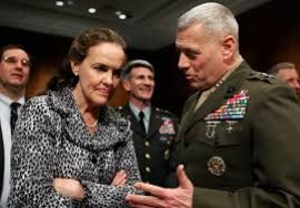 Michele Flournoy might be breaking a glass ceiling as Pentagon chief, but even feminists aren't buying