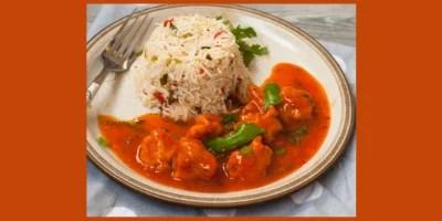 Chicken Manchurian & Fried Rice Recipe