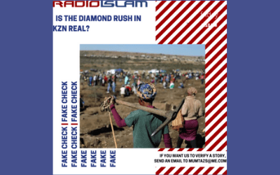 Fake Fact Check – Is The Diamond Rush In KZN Real?