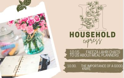 Household Express: Faeeza Lahri chats to us about Meal Planners