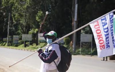 Kenya: 61-Year-Old Walks 350km to Meet President Kenyatta over Stadium