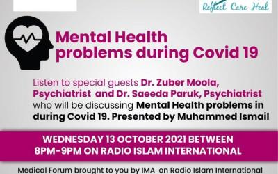 Medical Programme – Mental health problems during Covid 19