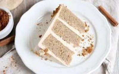 Soft chai spiced cake