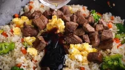 Steak Rice