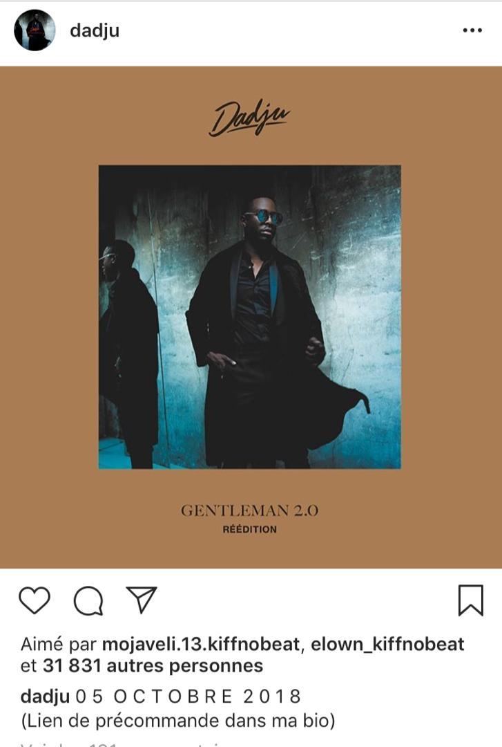 Dadju Gentleman 2.0 Titres : dadju, gentleman, titres, DADJU, ANNONCE, GRANDE, NOUVELLE, DECOUVREZ, LAQUELLE, Officiel, Radio, Côte, D'Ivoire