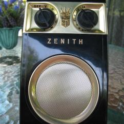 """Kitchen Cabinet For Sale Decorating Zenith Royal 500 Series Transistor Radios – The """"owl Eye ..."""