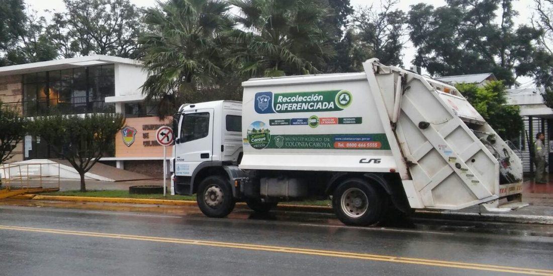 Colonia Caroya: notificarán a los vecinos que no cumplan con la separación de resiudos