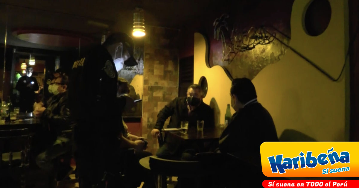 Policía interviene bar con 15 personas consumiendo alcohol al interior- Radio Karibeña