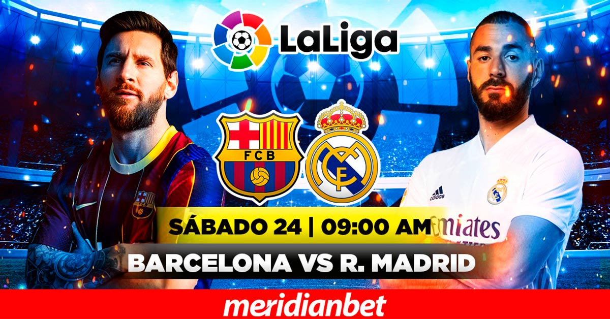 Radio Karibeña- ¡Vive el Barcelona - Real Madrid en Meridianbet!