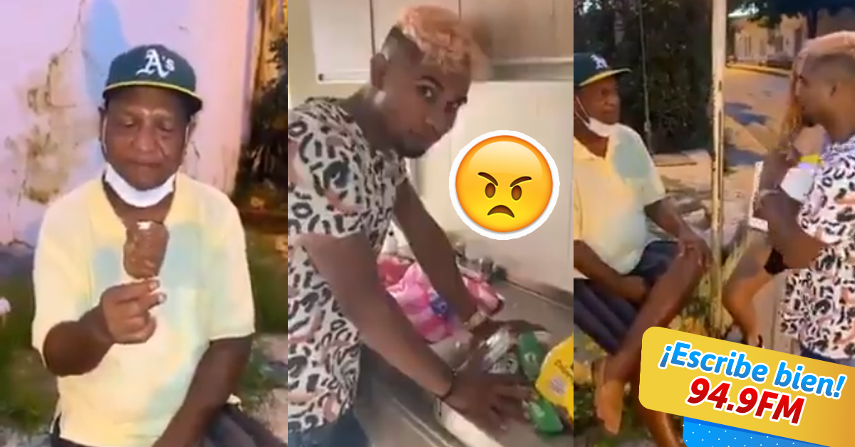 Influencer causa indignación al regalar paletas de jabón a abuelitos | VIDEO