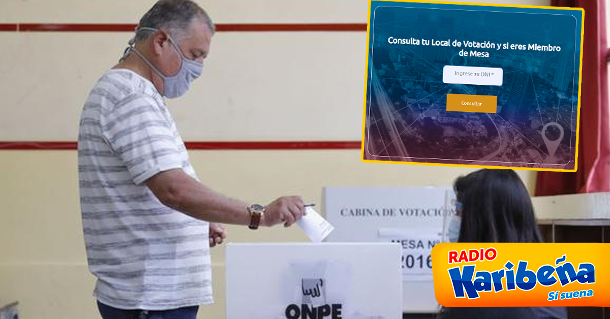 Karibeña - consulta local de voto