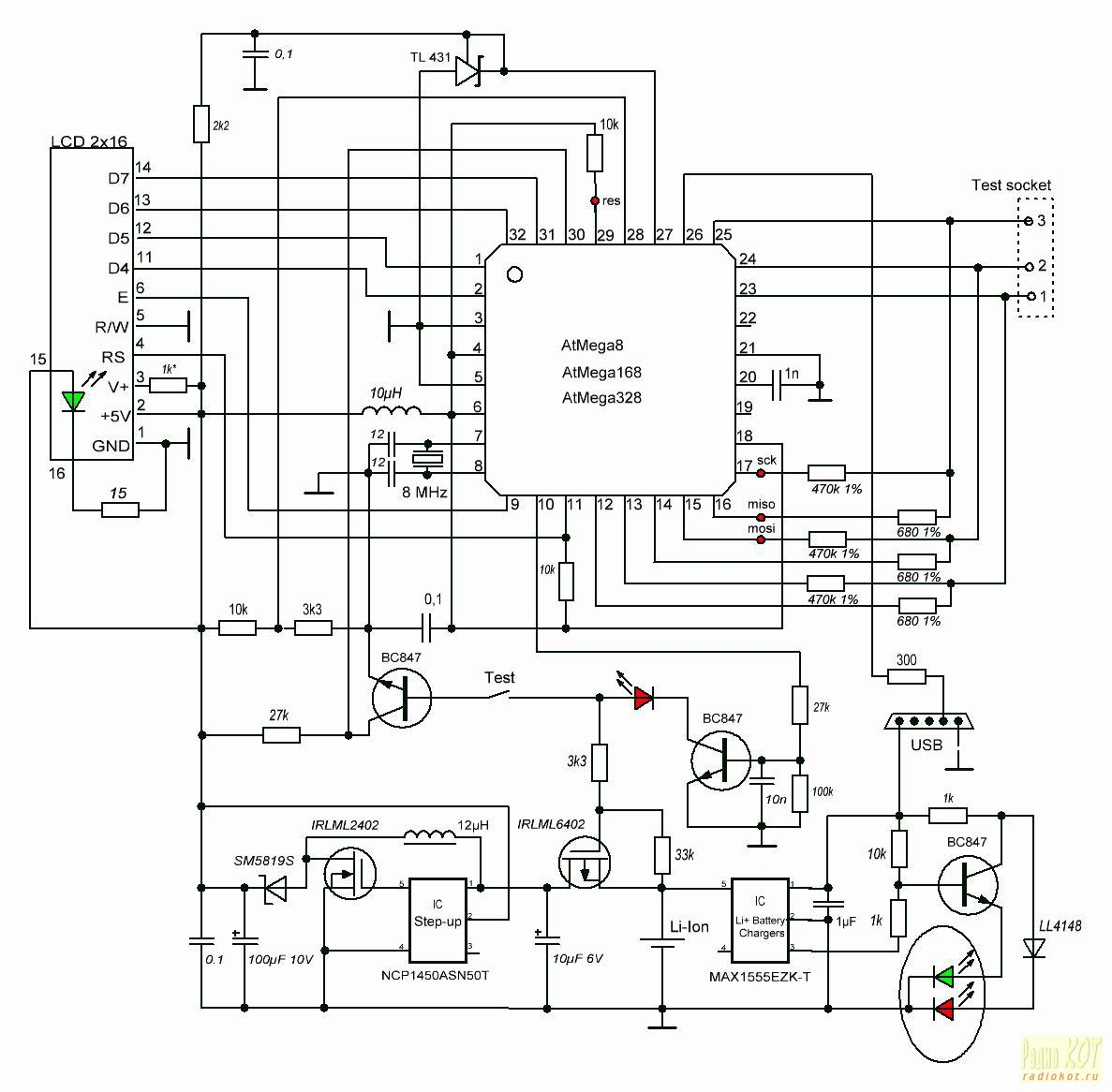 РадиоКот :: Определитель цоколевки, структуры и параметров