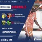 """Partidos de Ida Semifinales LDF 2019 """"Trofeo Apertura"""""""