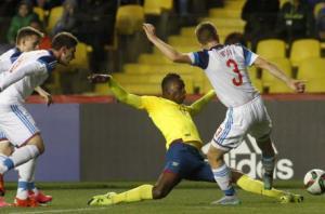 Ecuador goleó a Rusia y se ubica entre los ocho mejores del Mundial Sub-17