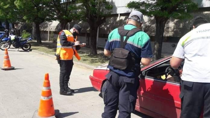 policia transito control
