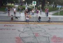 Acto contra el acuerdo porcino con China en Chacabuco