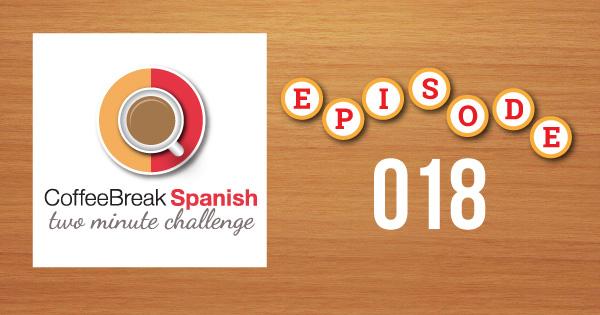Spanish Challenge 18