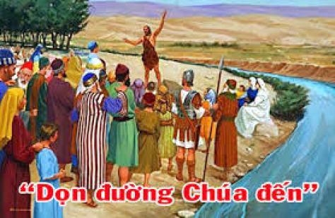 Lời Chúa + Bài giảng Chúa Nhật 2 Mùa Vọng - Năm B - Tỉnh Dòng Ngôi Lời -  Giuse Việt Nam