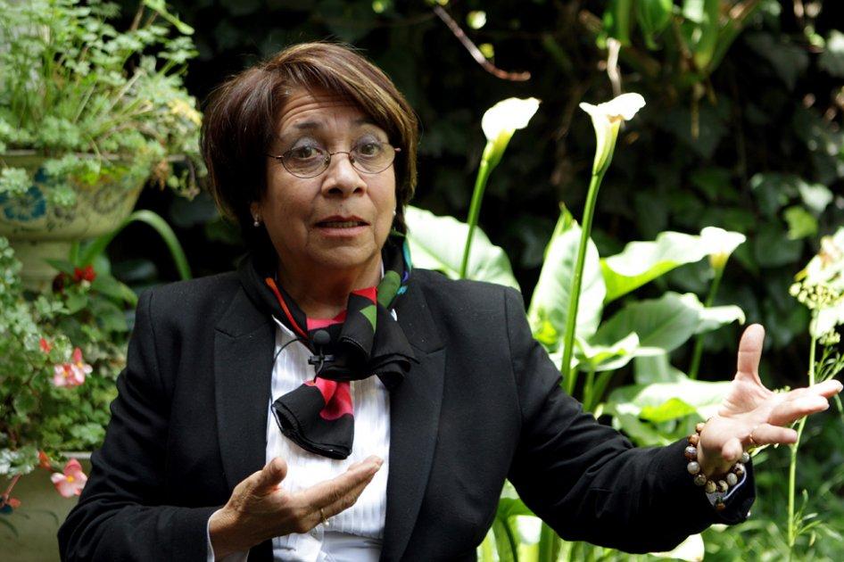 Aída Avella: ¿Asesinados por problemas personales? No, señor Presidente - aida