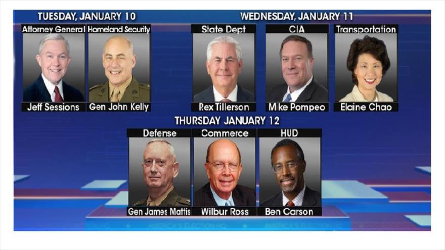Conozca a las principales figuras de la Administración de Trump - trump-equipo