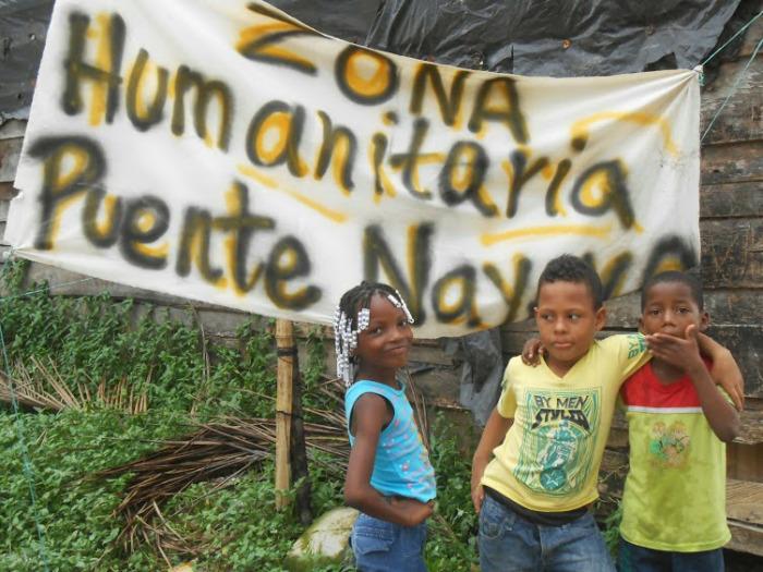BUENAVENTURA: Neoparamilitares irrumpen en asamblea de Espacio Humanitario Puente Nayero - dscn0852
