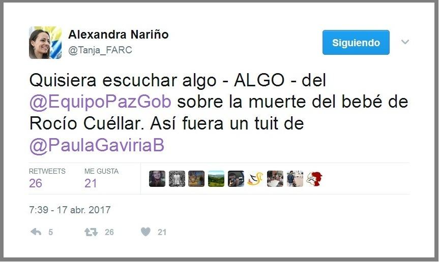 Exigen justicia por muerte del bebé de guerrillera - Muere-bebe-de-las-FARC