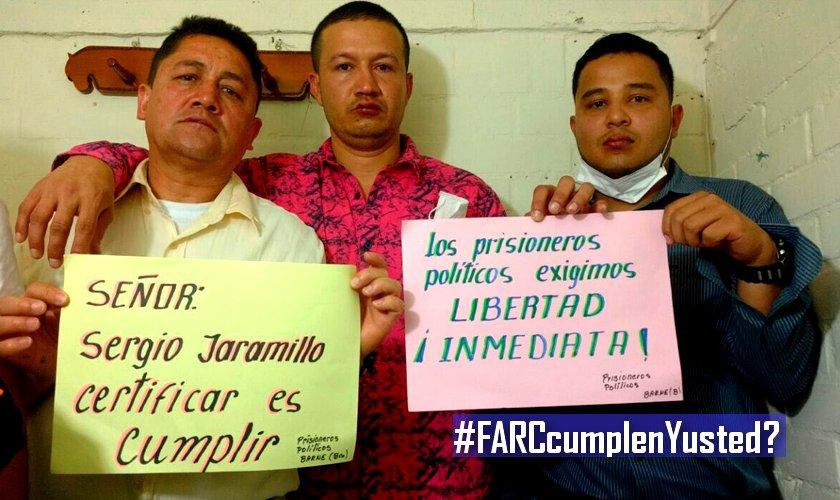 Prisioneros polítcos FARC