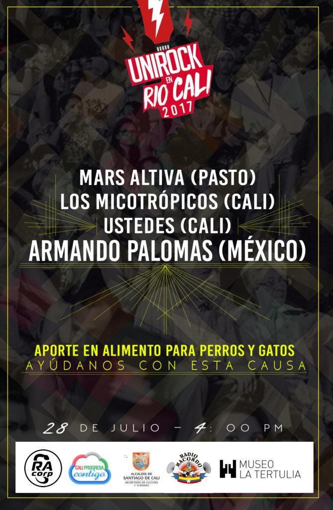 INVITACIÓN - Lanzamiento del Unirock en Río Cali - 27 de julio 7:00 a 9:00 p.m en la casa Obeso - UNIROCK-EN-RIO-5-669x1024