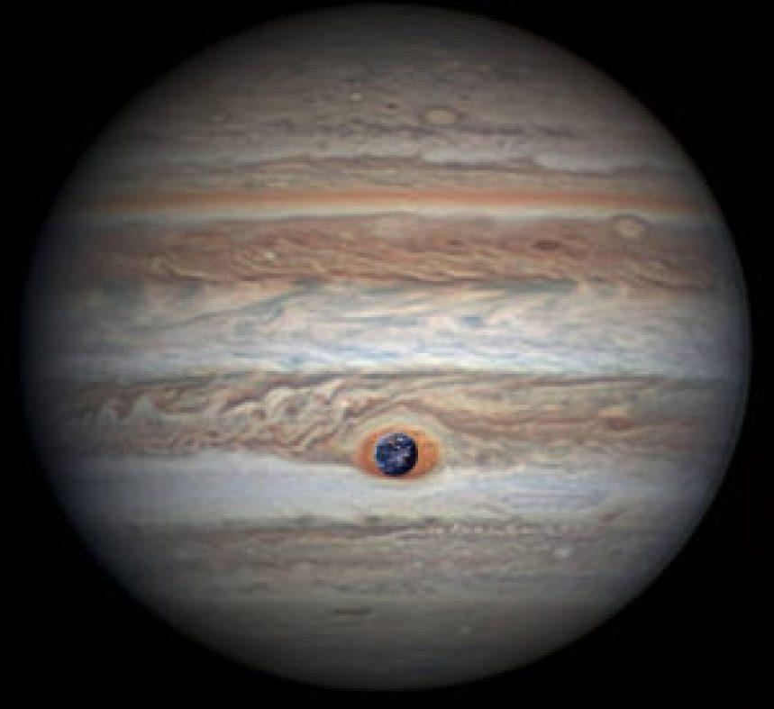 La NASA ofrece las mejores imágenes de la Gran Mancha Roja de Júpiter - pia21774-300x275