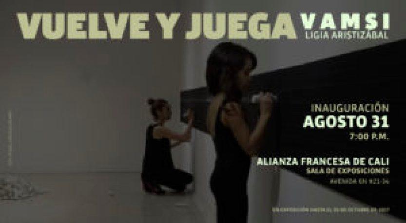 Exposición: Ligia Aristizábal Vuelve y Juega – Vamsi - Vuelve-y-juega-300x165