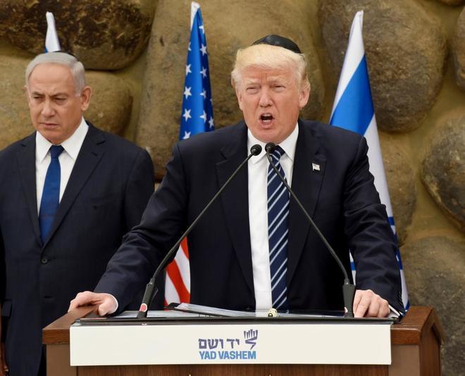 ¿Quién firmó la sentencia a muerte de Palestina? - Trump-y-netanyahu