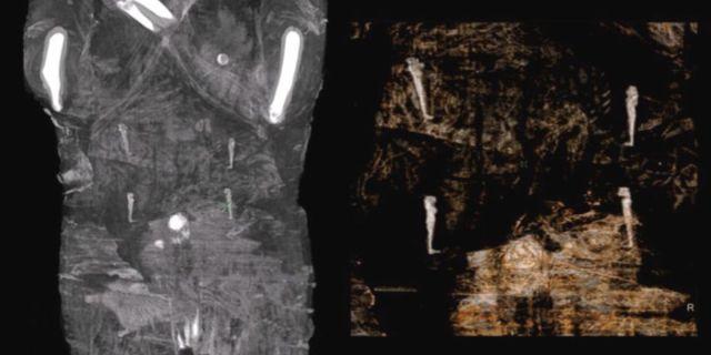 Descubrieron una momia egipcia embarazada de hace dos mil años