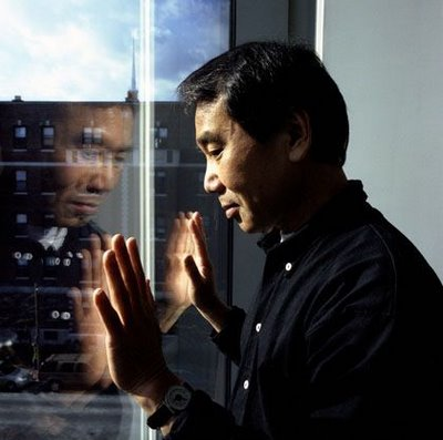 The author Haruki Murakami