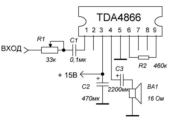 TDA4866 PDF