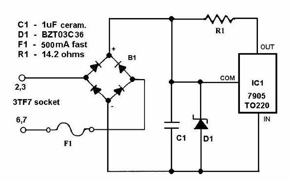 3TF7, Tube 3TF7; Röhre 3TF7 ID19414, Current Regulator, Iron