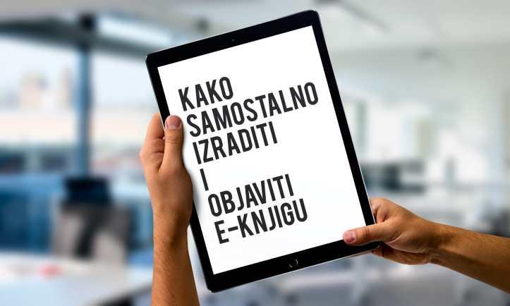 Radionica Kako objaviti e-knjigu Udruga Radiona Irena Krčelić 2017