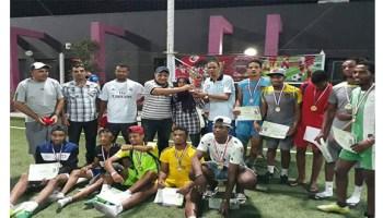 فريق دار الشباب بالمنصورة يتوّج بطل الدورة الإقليمية لكرة القدم المصغرة المقامة بولاية قابس