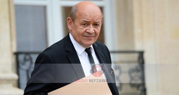 وزير الخارجية الفرنسي في زيارة عمل إلى تونس يومي 21 و22 أكتوبر