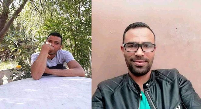 بلاغ ضياع الشابين (وليد بن عمار و أكرم جابر)