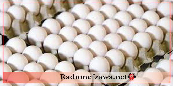 انخفاض سعر البيض مع حلول شهر رمضان