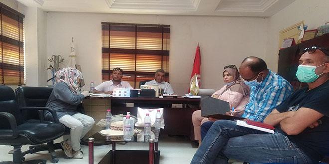 بلدية قبلي: جلسة لجنةالفنون و الثقافة و التراث و السياحة (صور)