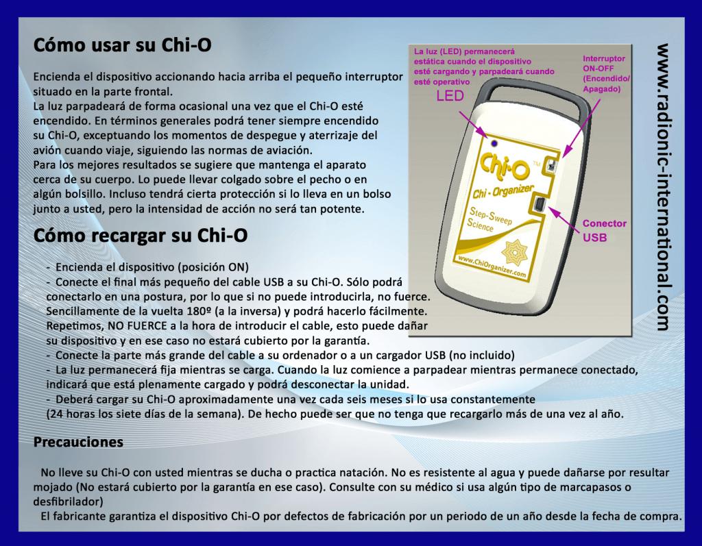 Manual de Uso Chi-O Economic (ES)