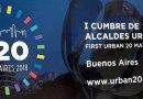 I Cumbre de Alcaldes Urban 20 en Argentina