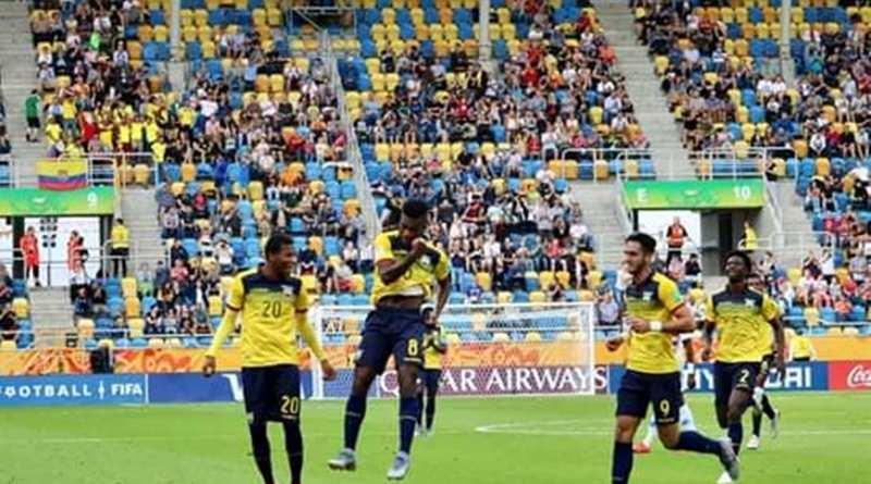 Ecuador clasificó a las  semifinales del  Mundial Sub-20 en Polonia