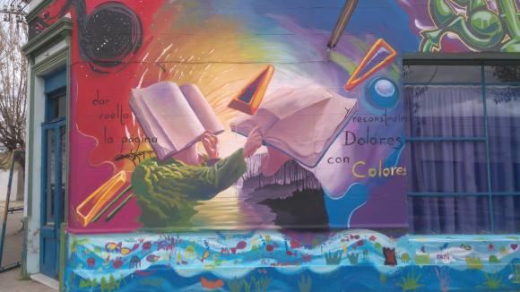 Derribando muros con arte