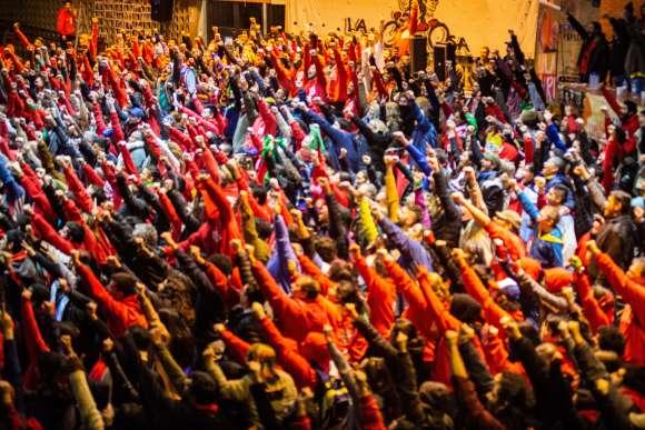 A través de Polenta, una versión del foro latinoamericano La Poderosa Porto Alegre
