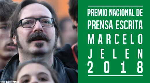 Diana Cariboni, ganadora del Premio nacional de prensa escrita Marcelo Jelen