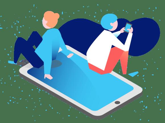 Crecer entre nativos digitales, con pensamiento colectivo
