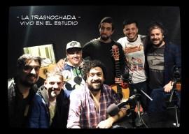 Los 5 de La Trasnochada en vivo en el estudio